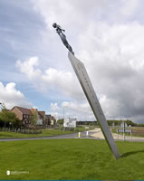 Stainless steel sculpture blackpool