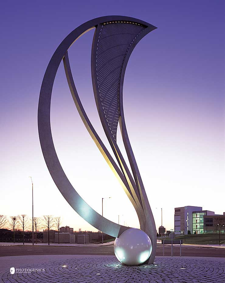 the-seed-sculpture-manchester-architectural-metalwork